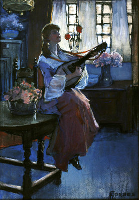 The Mellowinds of March Wall Art & Canvas Prints by Elizabeth Adela Stanhope Forbes