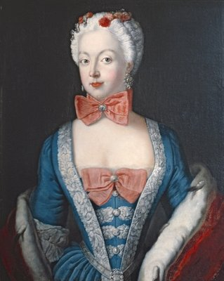 Crown Princess Elisabeth Christine von Preussen, c.1735 Fine Art Print by Antoine Pesne