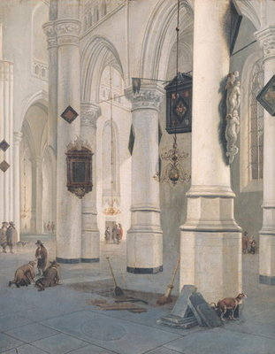 Church Interior Fine Art Print by Emanuel de Witte