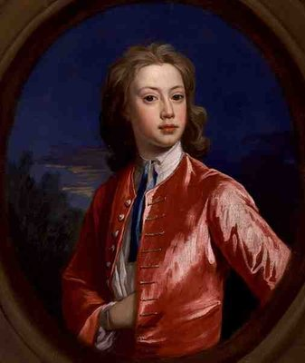 Nathaniel Seymour, c.1730-35 (oil on canvas) Fine Art Print by Jonathan Richardson