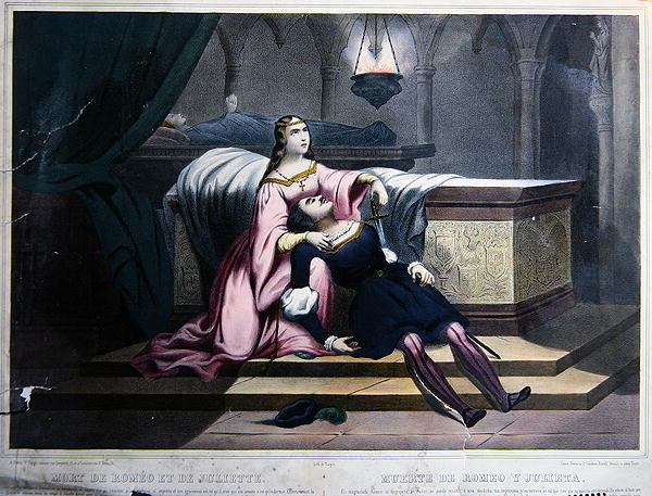 the death of romeo and juliet