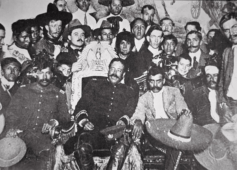 Emiliano Zapata and pancho villa