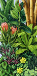 FOLIAGE III (oil on canvas) Wall Art & Canvas Prints by William Ireland