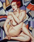 Cubist Nude (oil on canvas) Postcards, Greetings Cards, Art Prints, Canvas, Framed Pictures, T-shirts & Wall Art by Juan Gris