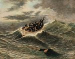 The Rescue, c.1860 Fine Art Print by William Clarkson Stanfield