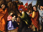 The Adoration of the Magi Wall Art & Canvas Prints by Andrea Casali