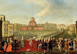 Fete at Naples on the Occasion of the Marriage of King Ferdinand I Poster Art Print by French School