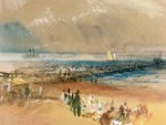 Boats at Margate Pier Fine Art Print by Gustave Courbet