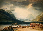 Lake Thun Fine Art Print by Adrien Manglard