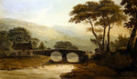 Baddgelert Bridge Fine Art Print by Francis Towne