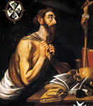 Peninent St. Dominic, 1621 Wall Art & Canvas Prints by English School