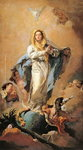 The Immaculate Conception, 1767-1769 Fine Art Print by Luca Giordano