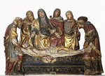 The Burial of Christ Fine Art Print by Evelyn De Morgan