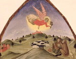 The Annunciation to the Shepherds Fine Art Print by Evelyn De Morgan