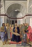 The Brera Altarpiece, 1472-74 Wall Art & Canvas Prints by Master of the Pala Sforzesca