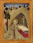 St. Jerome in the Desert Fine Art Print by Jean Bernard Restout