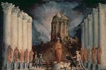 Destruction of the Temple of Jerusalem by Titus Fine Art Print by Francois de Nome
