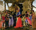 Adoration of the Magi Fine Art Print by Guido Reni