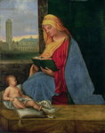 Virgin and Child Fine Art Print by Anna Teasdale