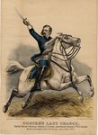 Custer's last charge, pub. by Currier & Ives, 1876 Fine Art Print by English Photographer
