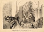The Assassination of President Lincoln, 1865 Wall Art & Canvas Prints by French School