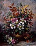 A Wintertide Floral Fantasy, 1999 Fine Art Print by Jan Brueghel