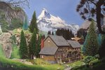 Matterhorn Mill, 2006 Fine Art Print by Albert Goodwin