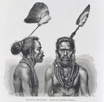 Man of the Ruk Islands, from 'The History of Mankind', Vol.1, by Prof. Friedrich Ratzel, 1896 (engraving) Wall Art & Canvas Prints by Felice Campi