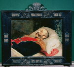 Emperor Alexander II (1818-81) on His Deathbed, 1881 (oil on canvas) Wall Art & Canvas Prints by Victor Mikhailovich Vasnetsov