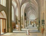 Church Interior Wall Art & Canvas Prints by John Buckler