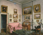 Col. Norcliffe's study at Langton Hall, c.1837 Wall Art & Canvas Prints by Anonymous