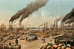 The Levee - New Orleans, 1884 (litho) Wall Art & Canvas Prints by William Aiken Walker