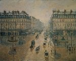 Avenue de L'Opera, Paris, 1898 Wall Art & Canvas Prints by Albert-Charles Lebourg