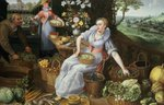 An Allegory of Summer Poster Art Print by Martin Schongauer