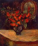 Bouquet, 1884 (oil on canvas) Wall Art & Canvas Prints by John Lidzey