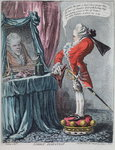 """Lordly Elevation"", pub. by Hannah Humphrey, 1802 Fine Art Print by James Gillray"
