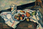 Still Life of Peaches and Pears, 1888-90 Fine Art Print by Joseph Jacob Plenck
