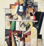 M. Matuischin (oil on canvas) Wall Art & Canvas Prints by Juan Gris