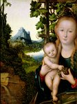 Madonna and Child, c.1525 (oil on wood) Wall Art & Canvas Prints by Paul Falconer Poole