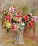 Roses in a Sevres vase Postcards, Greetings Cards, Art Prints, Canvas, Framed Pictures & Wall Art by Karen Armitage