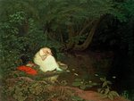 Disappointed love, 1821 Fine Art Print by French School