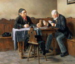 Pay Day, 1887 (oil on panel)