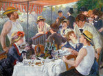The Luncheon of the Boating Party, 1881 Fine Art Print by Nicolas Lancret
