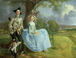 Mr and Mrs Andrews, c.1748-9 Fine Art Print by Thomas Gainsborough