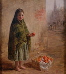 An Orange Seller, c.1865 Fine Art Print by William Henry Hunt