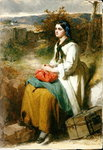 Lucy's Flittin, 1864 Wall Art & Canvas Prints by Janet and Anne Johnstone