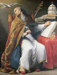 St. Gregory Fine Art Print by Francisco de Zurbaran