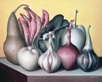 Allium attaches, 2005 Fine Art Print by Norman Hollands