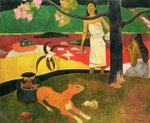 Pastorales Tahitiennes, 1893 Postcards, Greetings Cards, Art Prints, Canvas, Framed Pictures & Wall Art by Paul Gauguin