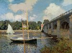 The Seine at Argenteuil Wall Art & Canvas Prints by Claude Monet